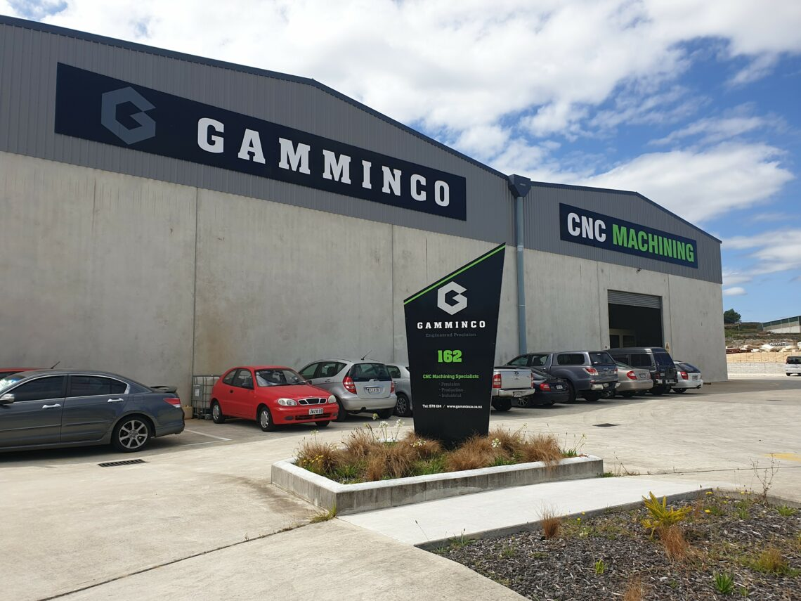 GammInCo building exterior