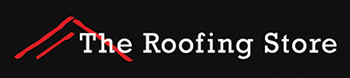 the roofing store logo