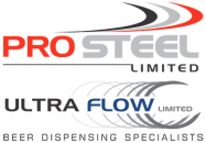 ultra flow and pro steel logo